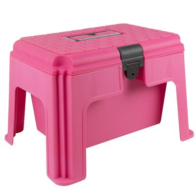 Pink Step up grooming box