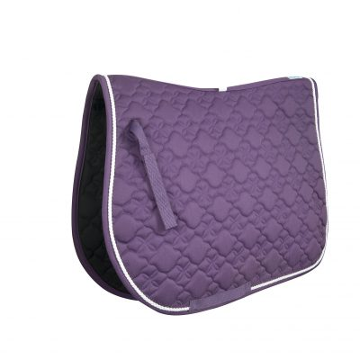 Purple/White Trim General Purpose Saddle Pad
