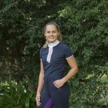 Navy/Purple, full silicon seat breeches